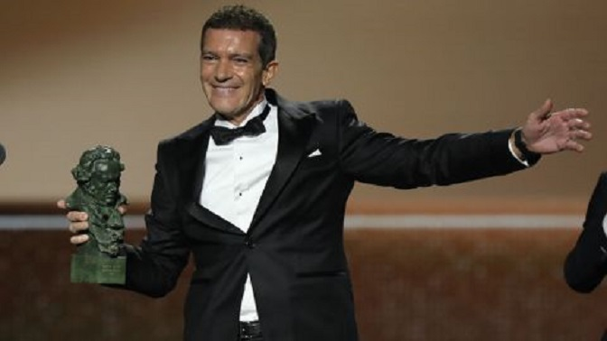 Antonio Banderas, Goya al mejor actor por Dolor y Gloria.