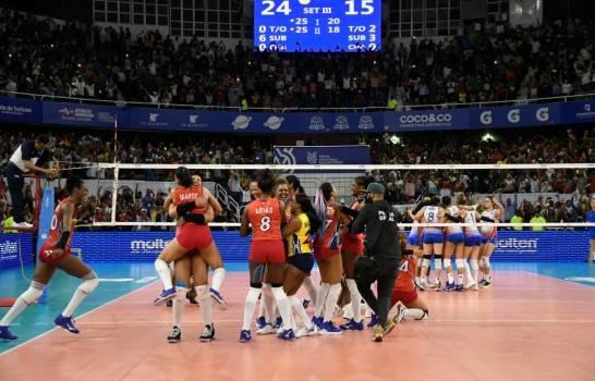 Las Reinas del Caribe conquistan pase para los Juegos Olímpicos de Tokio tras vencer a Puerto Rico.(Foto: externa)