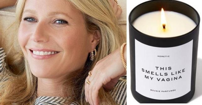 Actriz Gwyneth Paltrow agota venta de vela que huele como su vagina.(Foto: externa)