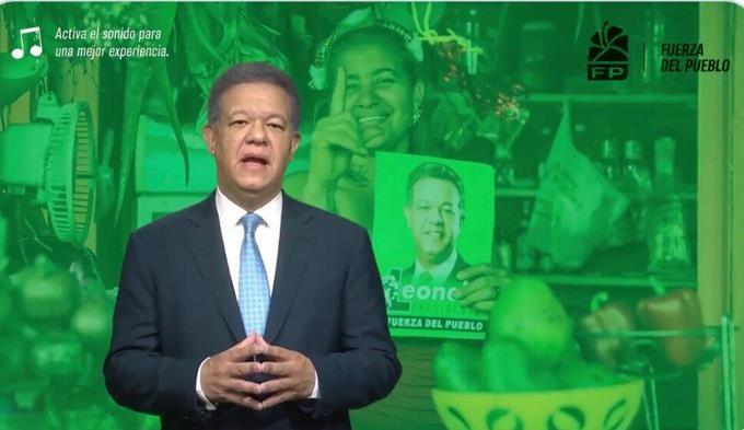 Leonel Fernández, presenta propuestas para erradicar con la violencia contra la mujer. (Foto: tomada del video)
