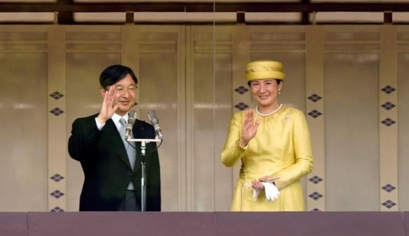 Los emperadores de Japón, Naruhito y Masako.( Foto: Franck Robichon/ EFE)