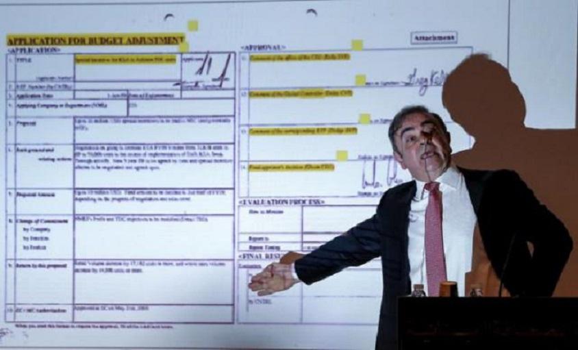 Nissan interpone una demanda civil contra Carlos Ghosn.
