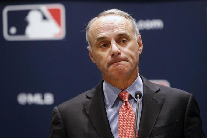 Rob Manfred comisionado de la MLB. (Foto: externa)