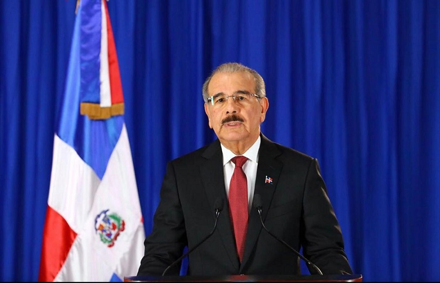 Presidente Danilo Medina se dirige al país.