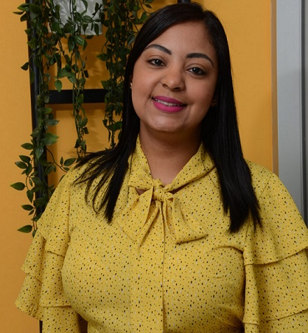 Genovi Sánchez Popoteur candidata a regidora por el PLD.