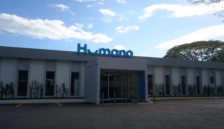 Fachada de la nueva oficina regional Norte de seguros Humano. (Foto: Externa)