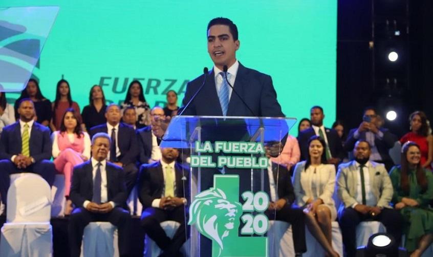 José Abud secretario de juventud de la FP.