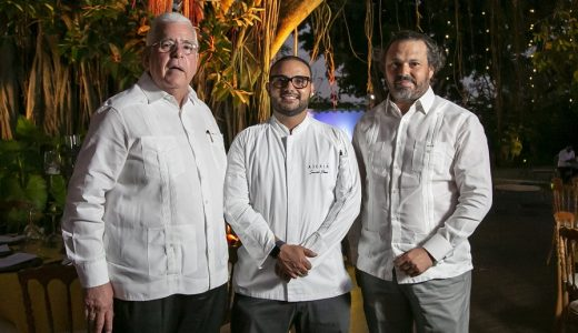 José Mallén, Severio Stassi, Juan Tomás Díaz en Restaurant Week 2019. (Foto: externa)