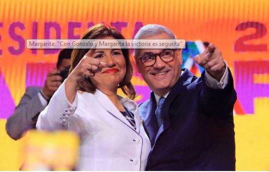 Margarita Cedeño y Gonzalo Castillo.