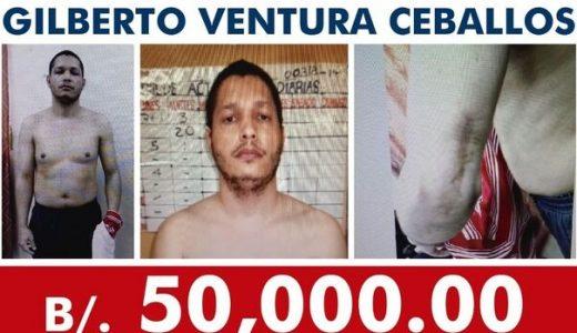 Ofrecen recompensa por dominicano Gilberto Ventura Ceballos.