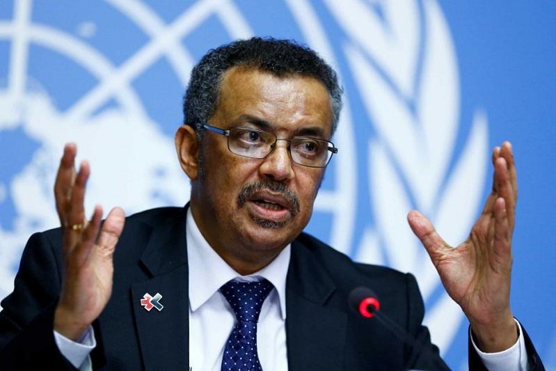 Tedros Adhanom Ghebreyesus director general de la OMS.