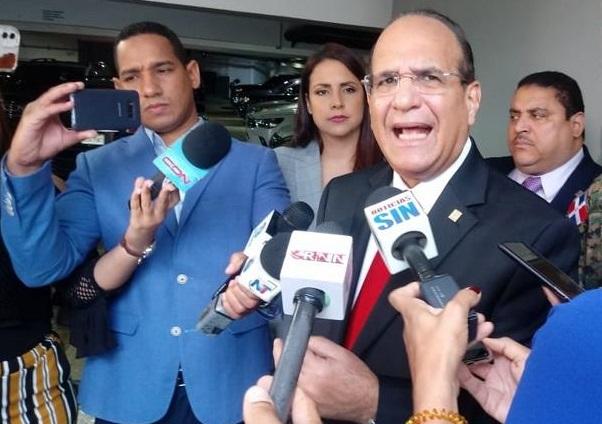 Julio César Castaños Guzmán presidente de la Junta Central Electoral en un comunicado de prensa.(Foto externa)