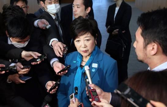 Yuriko Koike gobernadora de la prefectura de Tokio. (Foto: EFE/Jiji Press)