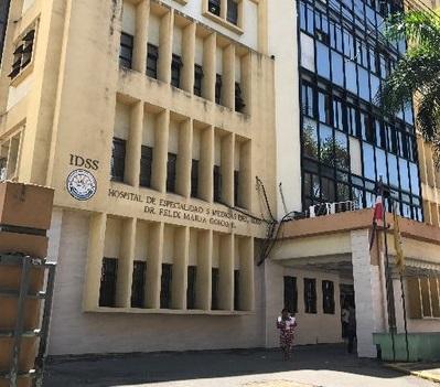 Hospital Félix María Goico fachada.