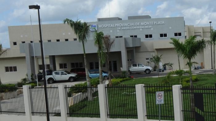 Hospital Provincial de Monte Plata Dr. Ángel Contreras Mejía. (Foto: externa)