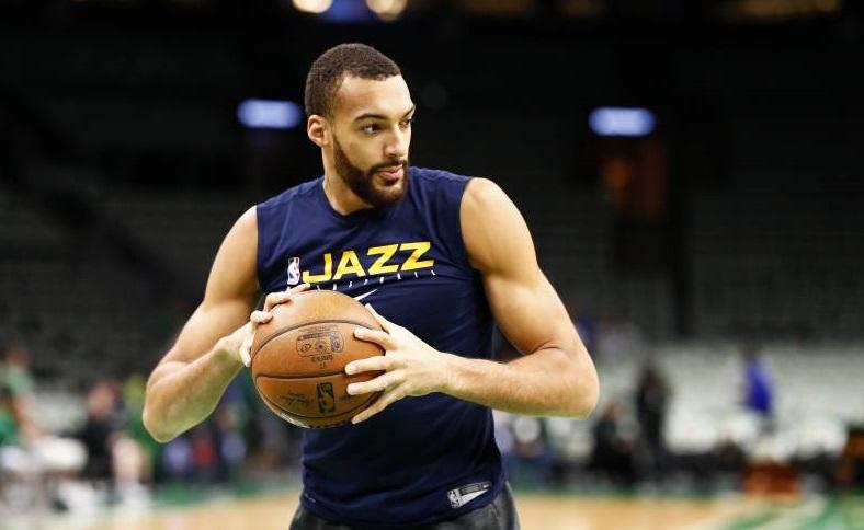 Rudy Gobert jugador del equipo de los Jazz de Utah. (Foto: Omar Rawlings/Getty Images)