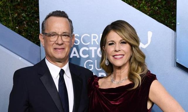 Tom Hanks y su esposa dan positivo a coronavirus.