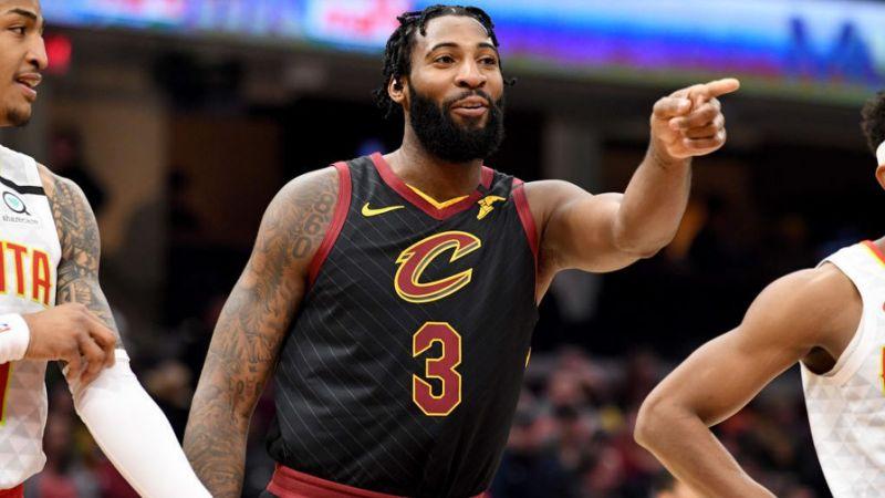 El pívot titular Andre Drummond, Cavaliers de Cleveland.