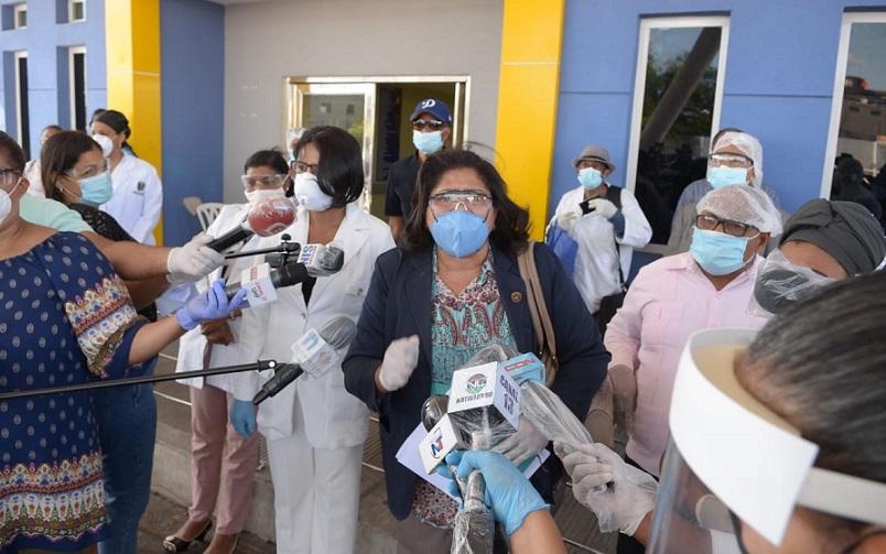 Enfermeras exigen equipos de protección.