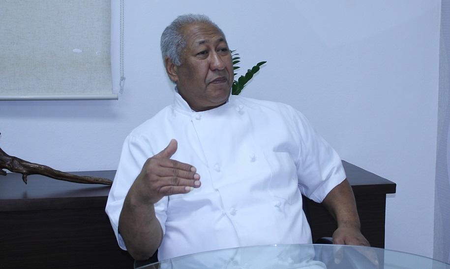 """El chef Juan Almonte (Topic`s) participa en """"Diálogo eXtra""""."""