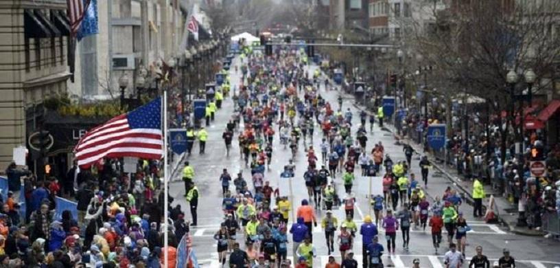 Cientos de atletas participan en el Maratón de Boston. (Fuente: externa)