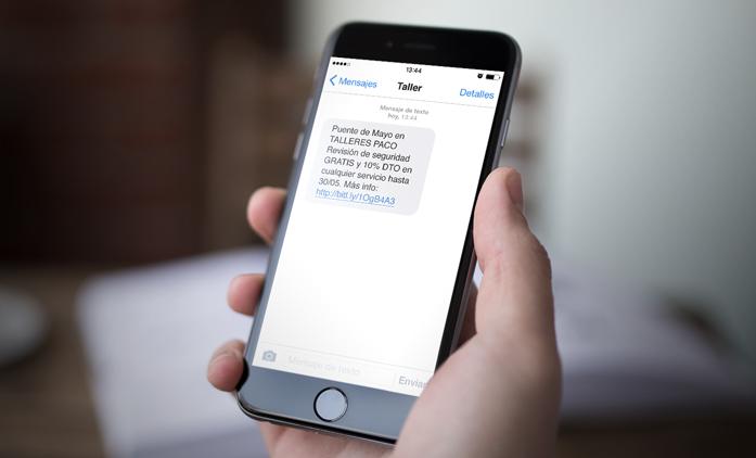 Mensajes de texto para robar datos de ciudadanos.
