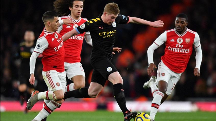 Premier League anuncia encuentro Manchester City vs Arsenal.