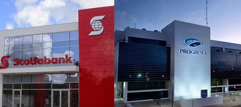 Scotiabank y Banco del Progreso anuncian cierre temporal.