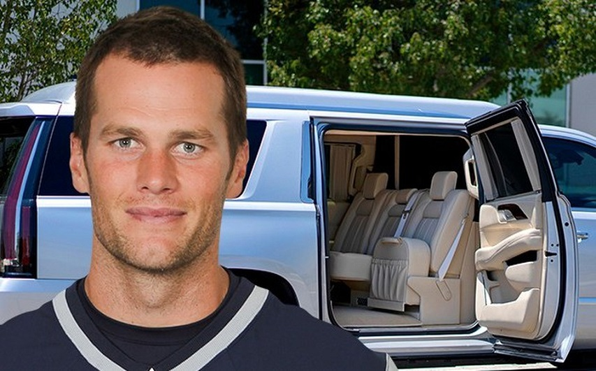 Tom Brady vende lujoso Cadillac.
