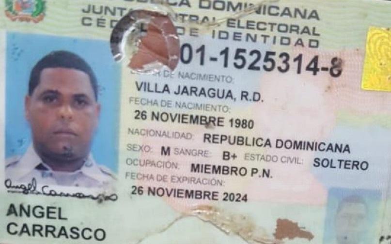 Ángel Carrasco, agente der la Policía asesinado.
