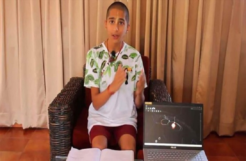"""Abhigya Anand, el niño indio que no """"predijo"""" el coronavirus"""
