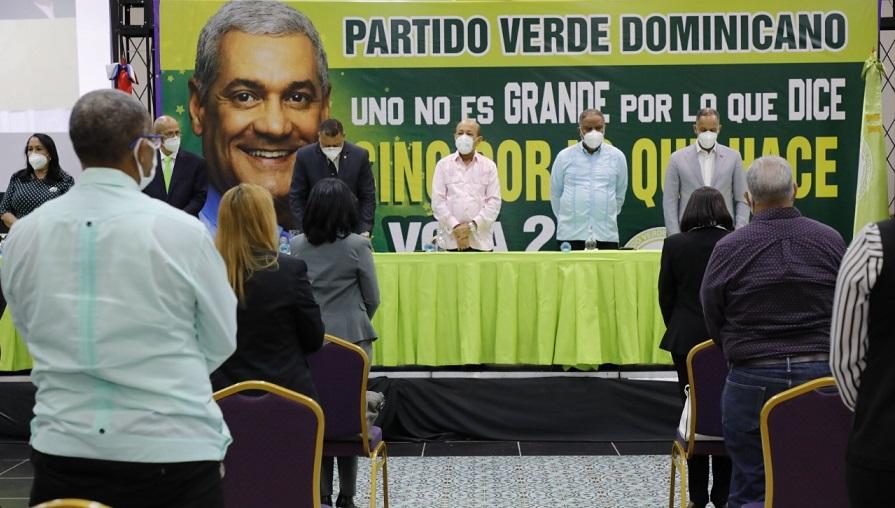 Partido Verde proclama a Gonzalo como candidato presidencial