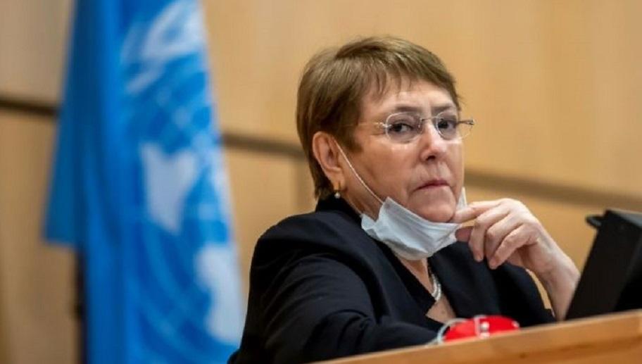 La Alta Comisionada de Naciones Unidas para los Derechos Humanos, Michelle Bachelet.