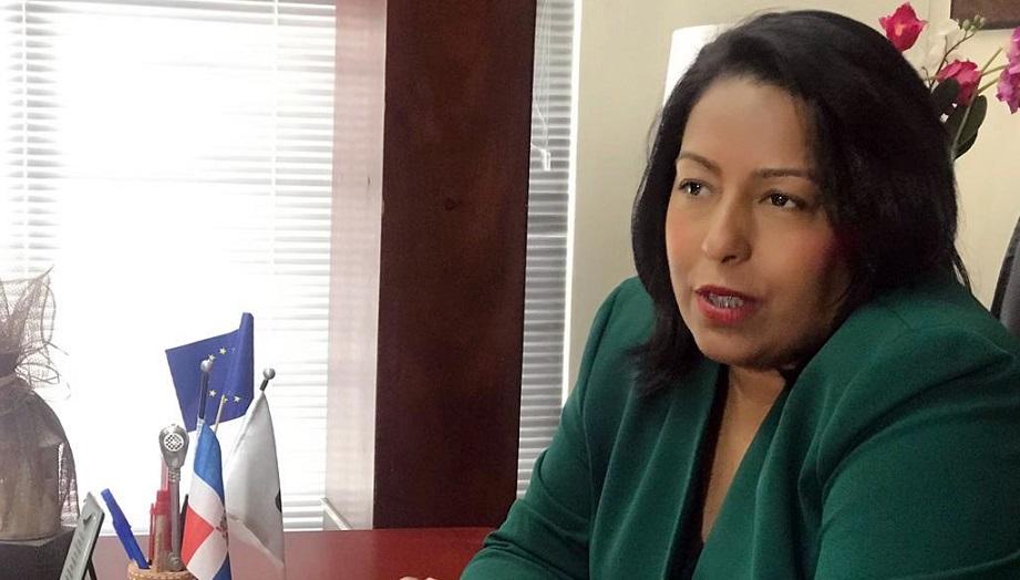 Altagracia Tavárez, secretaria asuntos municipales del PRD.
