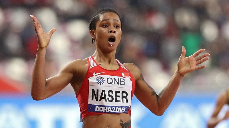 Suspenden campeona mundial Salwa Eid Naser.