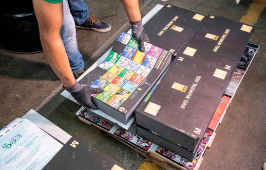 JCE finaliza impresión de boletas electorales.