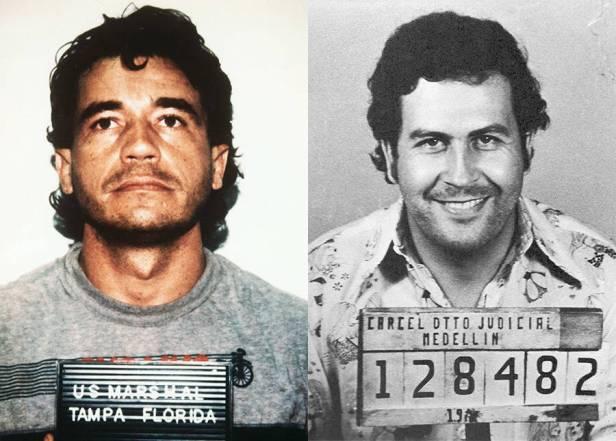 Carlos Lehder transportaba droga de Pablo Escobar.