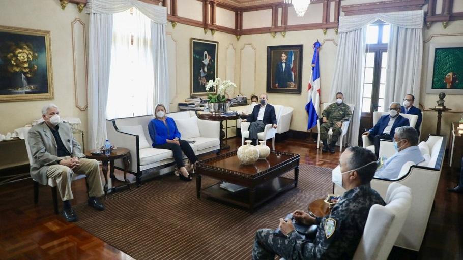 Reunión del Comité de Emergencia Sanitaria con el presidente Danilo Medina.