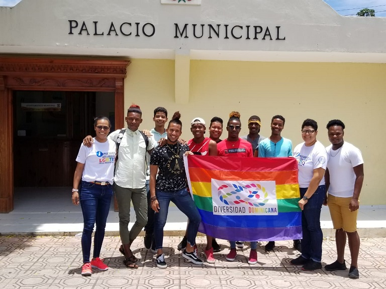 Rosanna Marzán representante comunidad gay en RD.