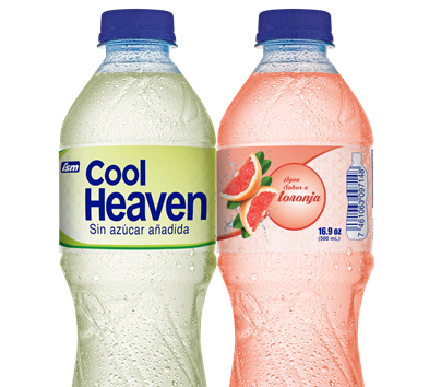 Cool Heaven presenta agua saborizada.
