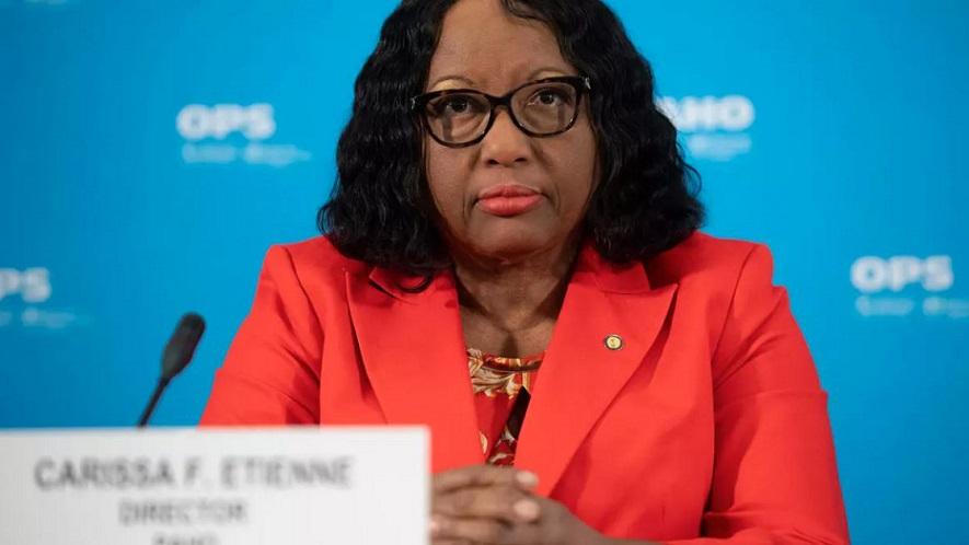 Directora OPS Carissa Etienne advierte sobre nuevo brote COVID-19.