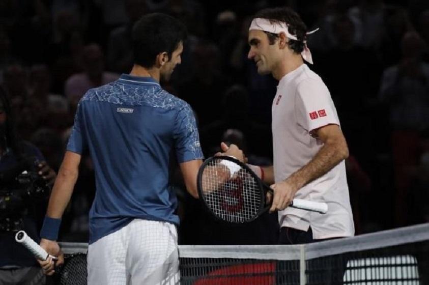 """Djokovic: """"Federer es posiblemente el mejor tenista de la historia""""."""