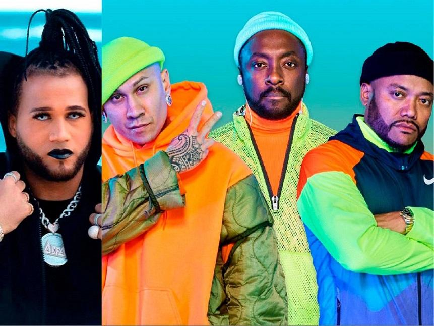 El Alfa estrena sencillo junto a Black Eyed Peas.