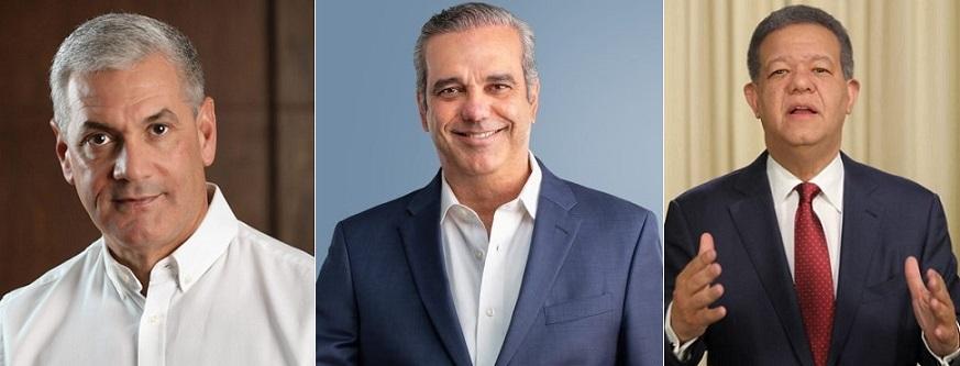Encuesta presidencial diario Extra Digital candidatos.