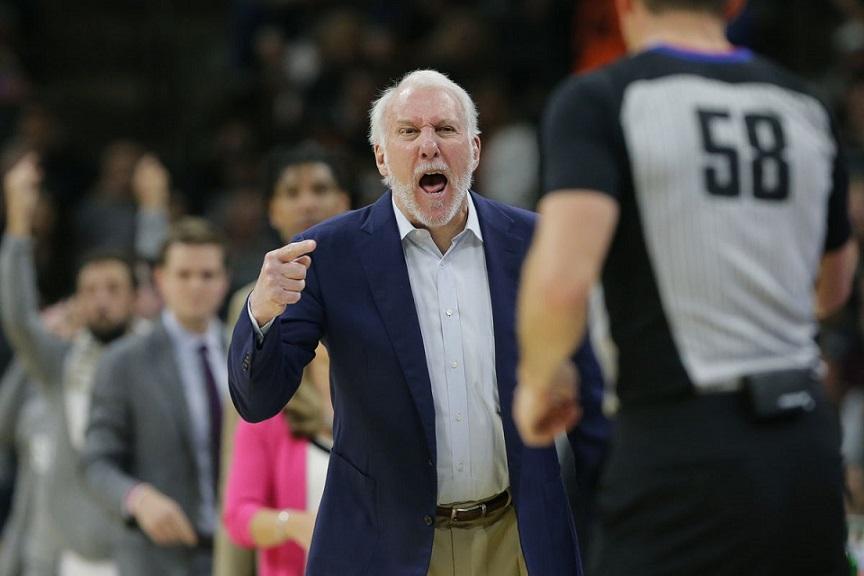 Entrenador de Spurs Gregg Popovich pide cambios en EE.UU.