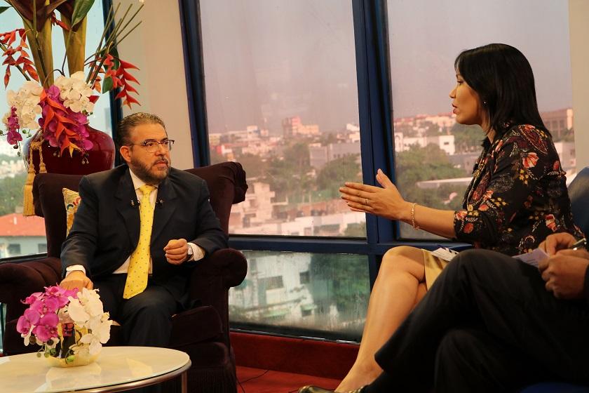 Guillermo Moreno asegura erradicará corrupción en gobierno ALPAIS.
