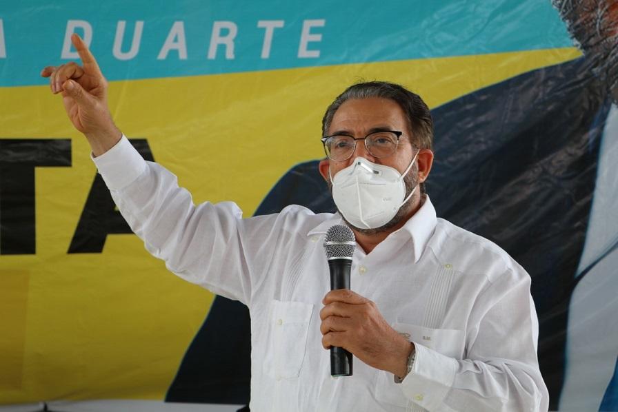 Guillermo Moreno, candidato de ALPAIS.