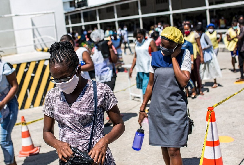 Haití registra nuevos casos de coronavirus.