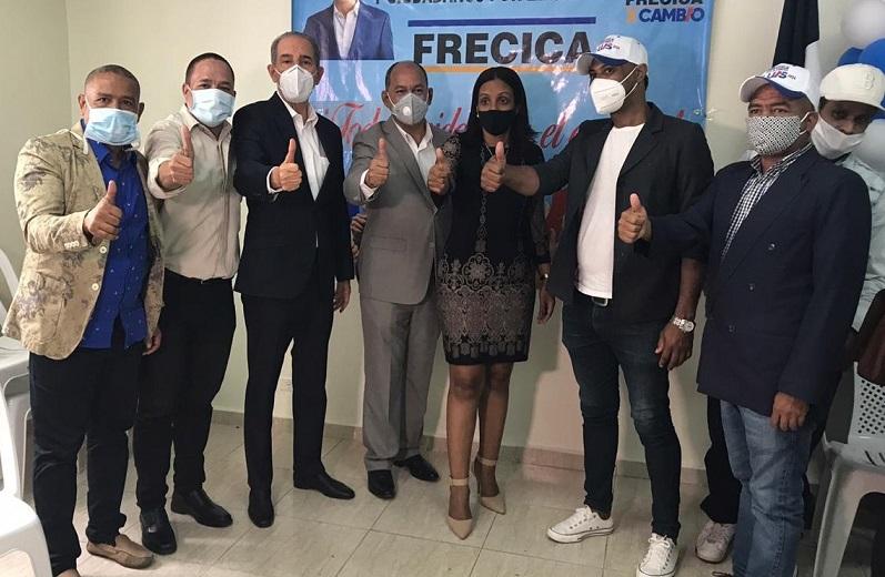 Integrantes del Movimiento FRECICA.