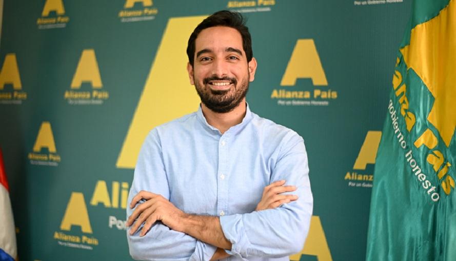 José Horacio Rodríguez, candidato a diputado por Alianza País.